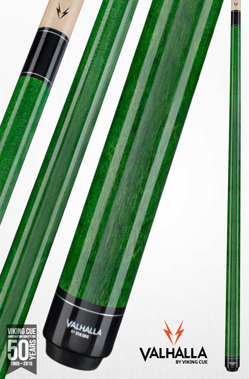 Viking Valhalla VA105 Green Pool Cue Stick