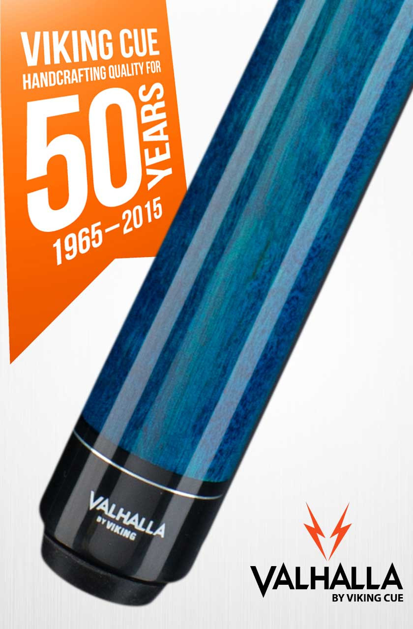 Viking Valhalla VA113 Blue Pool Cue Stick