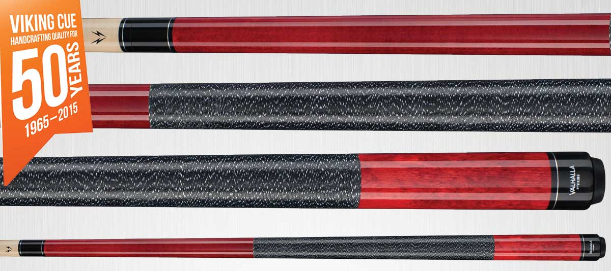 Viking Valhalla VA114 Red Pool Cue Stick
