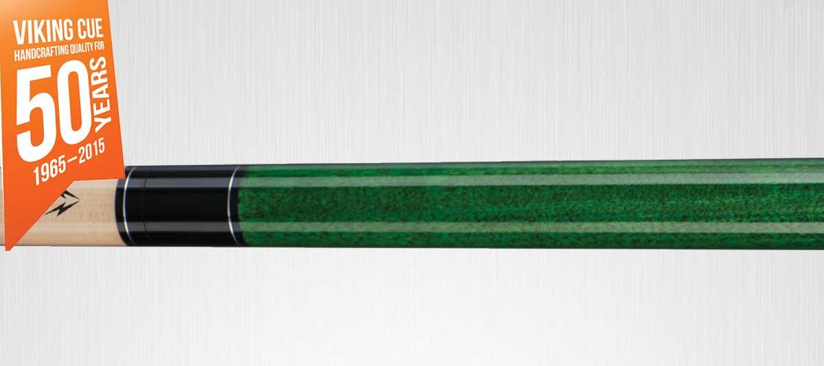 Viking Valhalla VA115 Green Pool Cue Stick