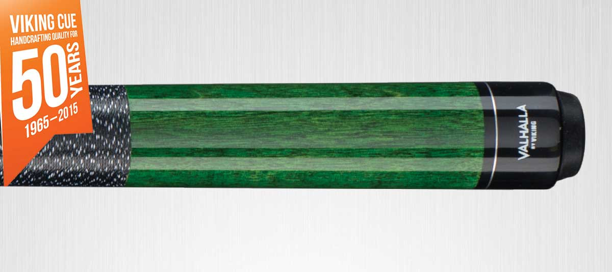 Viking Valhalla VA115 Green Pool Cue Stick