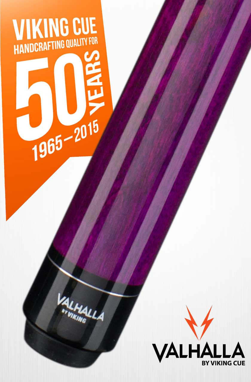 Viking Valhalla VA117 Purple Pool Cue Stick