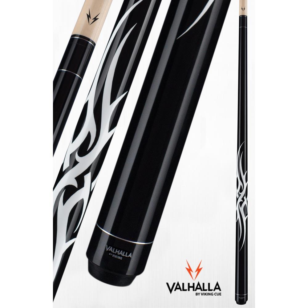 Valhalla VA204 Black Pool Cue Stick from Viking Cue