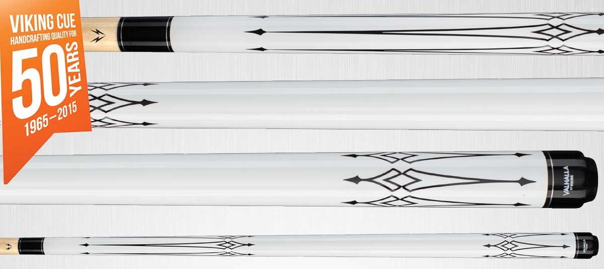 Viking Valhalla VA221 White Pool Cue Stick