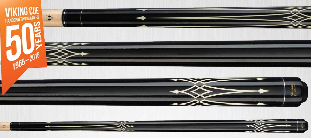 Viking Valhalla VA222 Pool Cue - Back