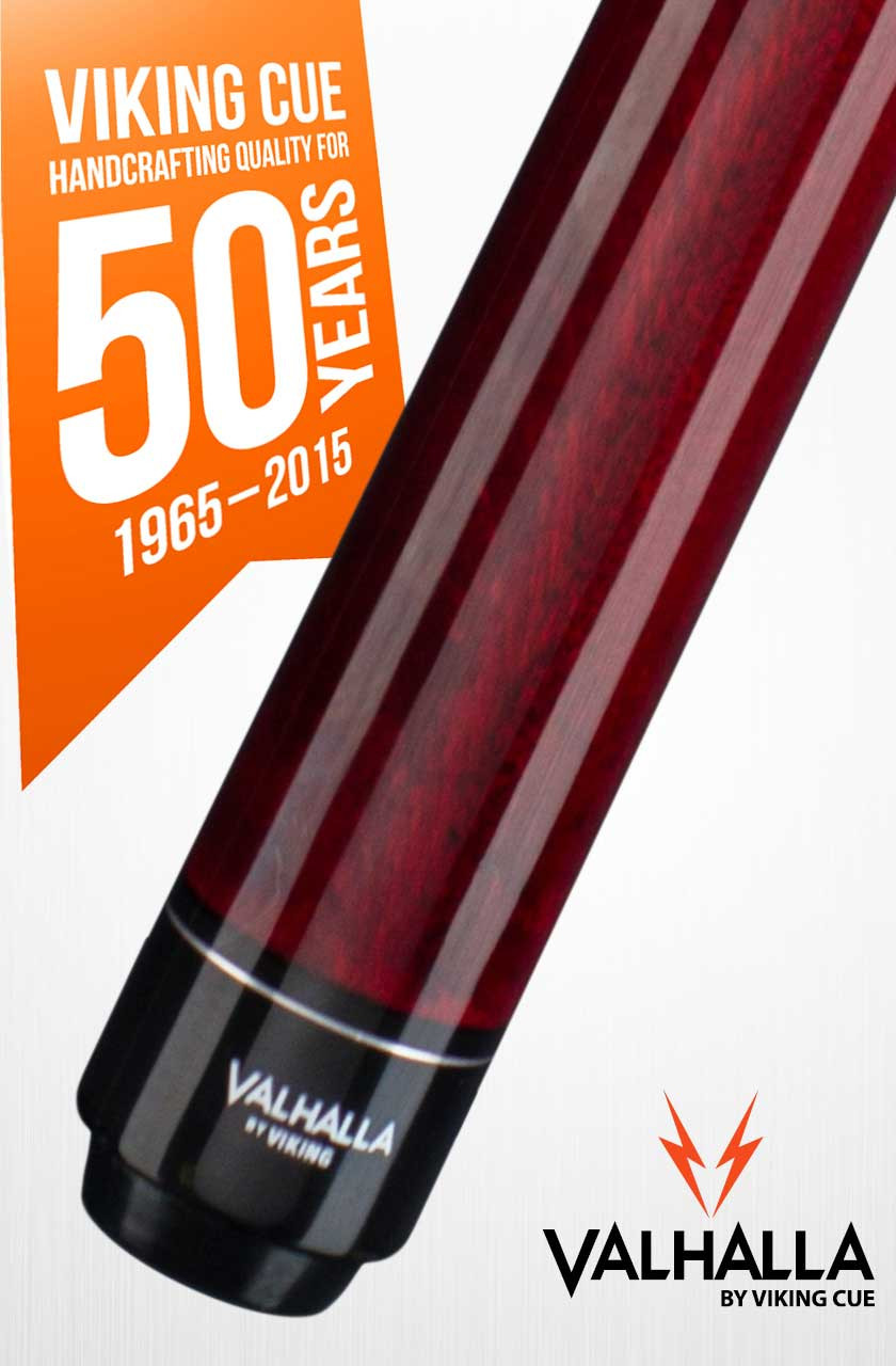 Viking Valhalla VA232 Burgundy Pool Cue