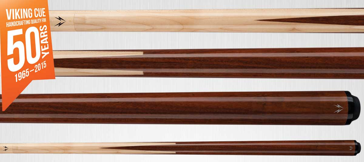 Viking Valhalla VA241 Brown Sneaky Pete Pool Cue Stick