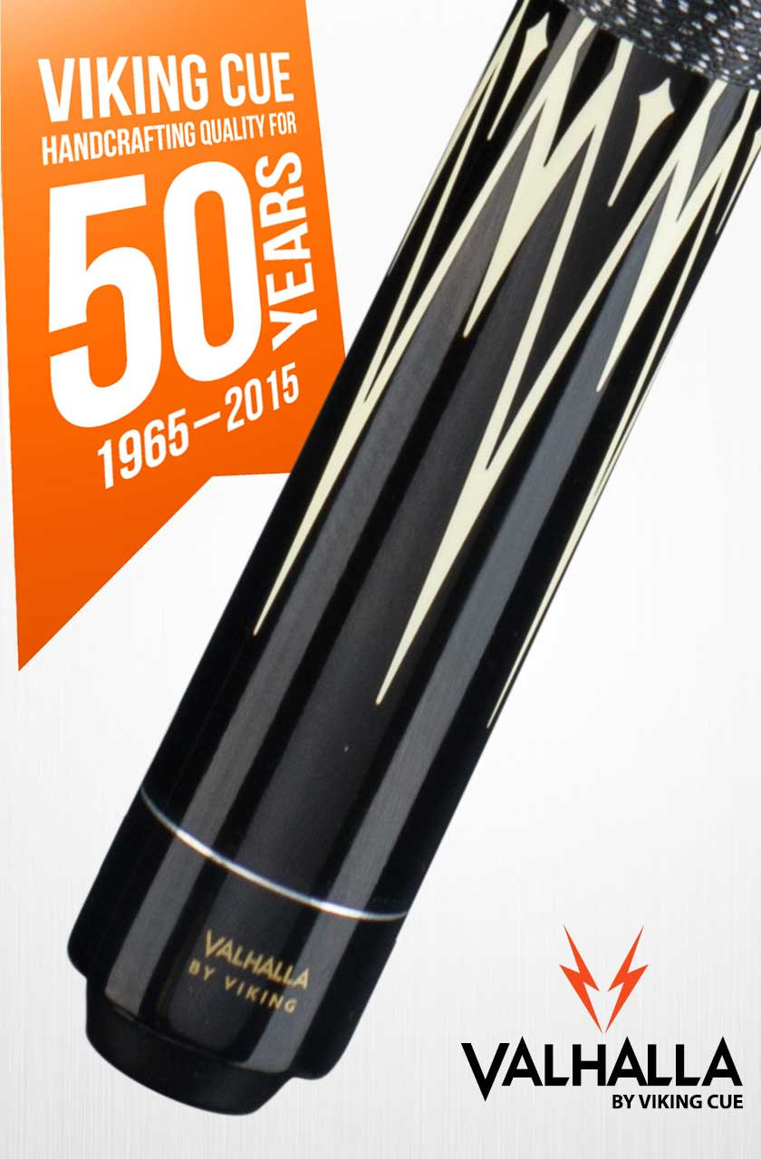 Viking Valhalla VA301 Black Pool Cue