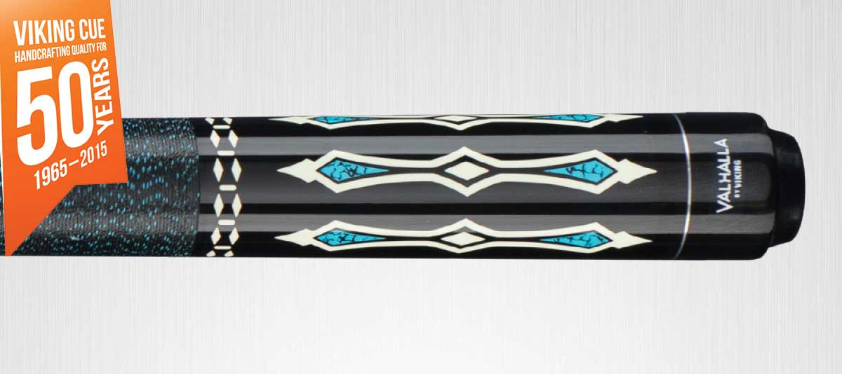 Viking Valhalla VA311 Black/Turquoise Pool Cue