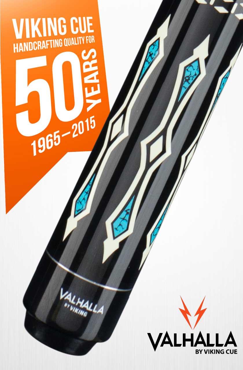Viking Valhalla VA311 Black/Turquoise Pool Cue