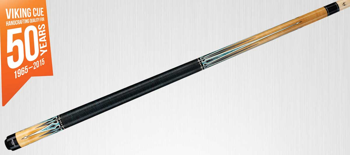 Viking Valhalla VA501 Natural/Turquoise Pool Cue