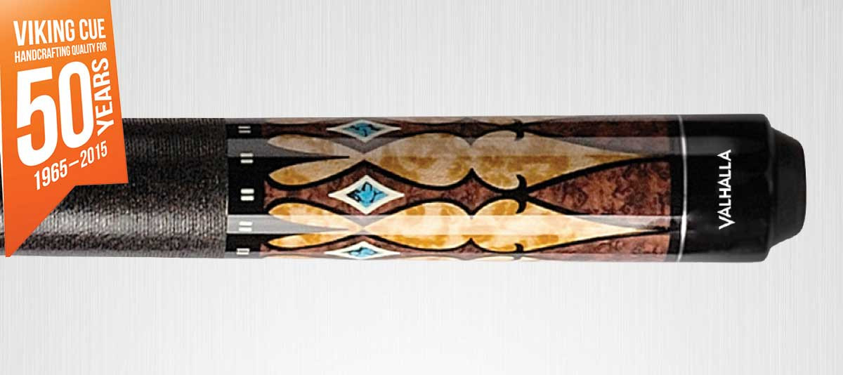 Viking Valhalla VA502 Brown/Turquoise Pool Cue
