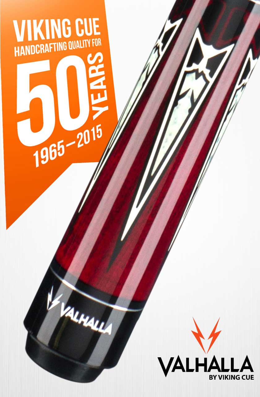 Viking Valhalla VA701 Red Pool Cue