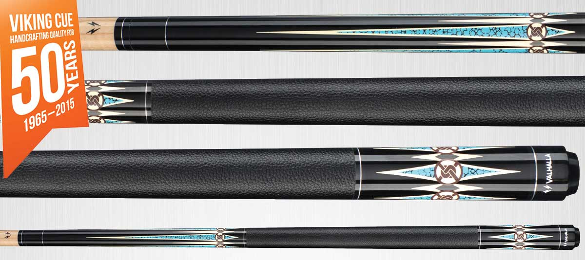 Viking Valhalla VA704 Black/Turquosie Pool Cue