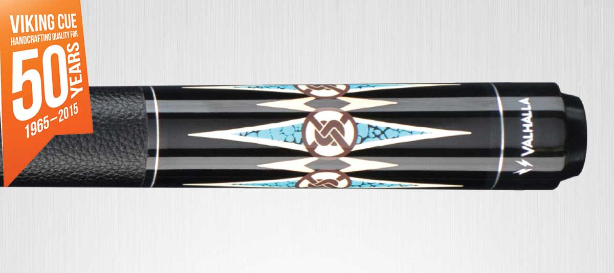 Viking Valhalla VA704 Black/Turquosie Pool Cue