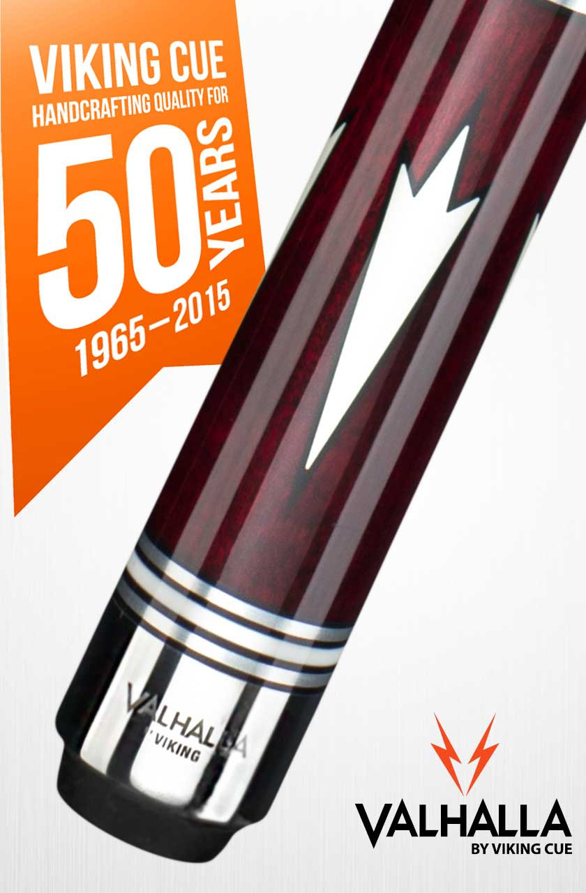 Viking Valhalla VA902 Red Pool Cue