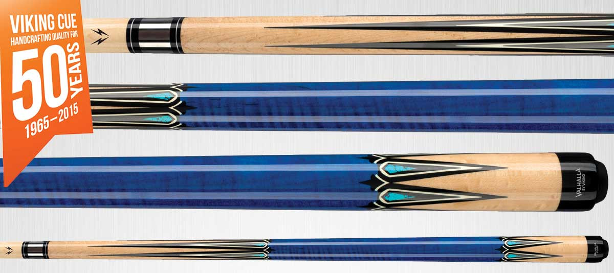 Viking Valhalla VA942 Blue Pool Cue