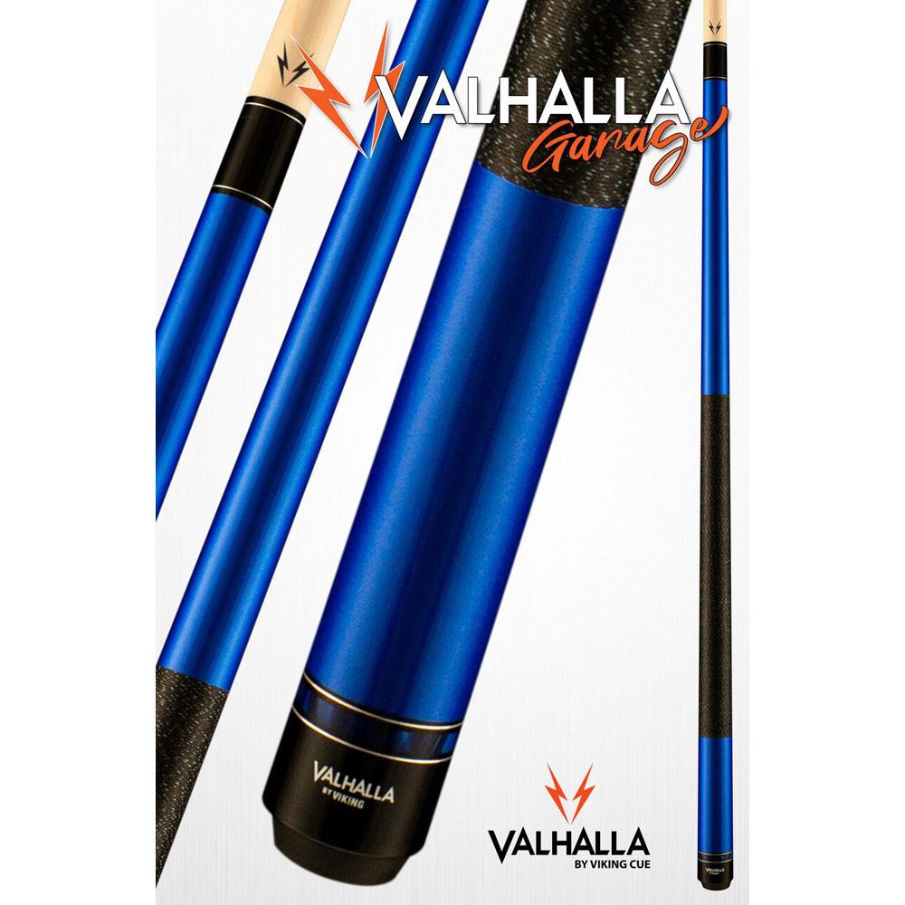 Valhalla Garage VG024 Blue Pool Cue Stick