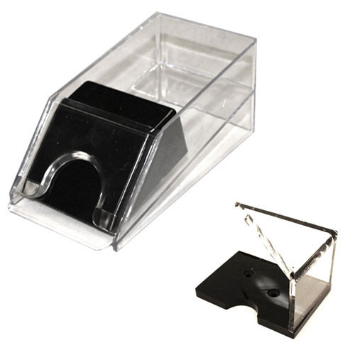 2 Deck Blackjack Dealer Shoe and Discard Tray