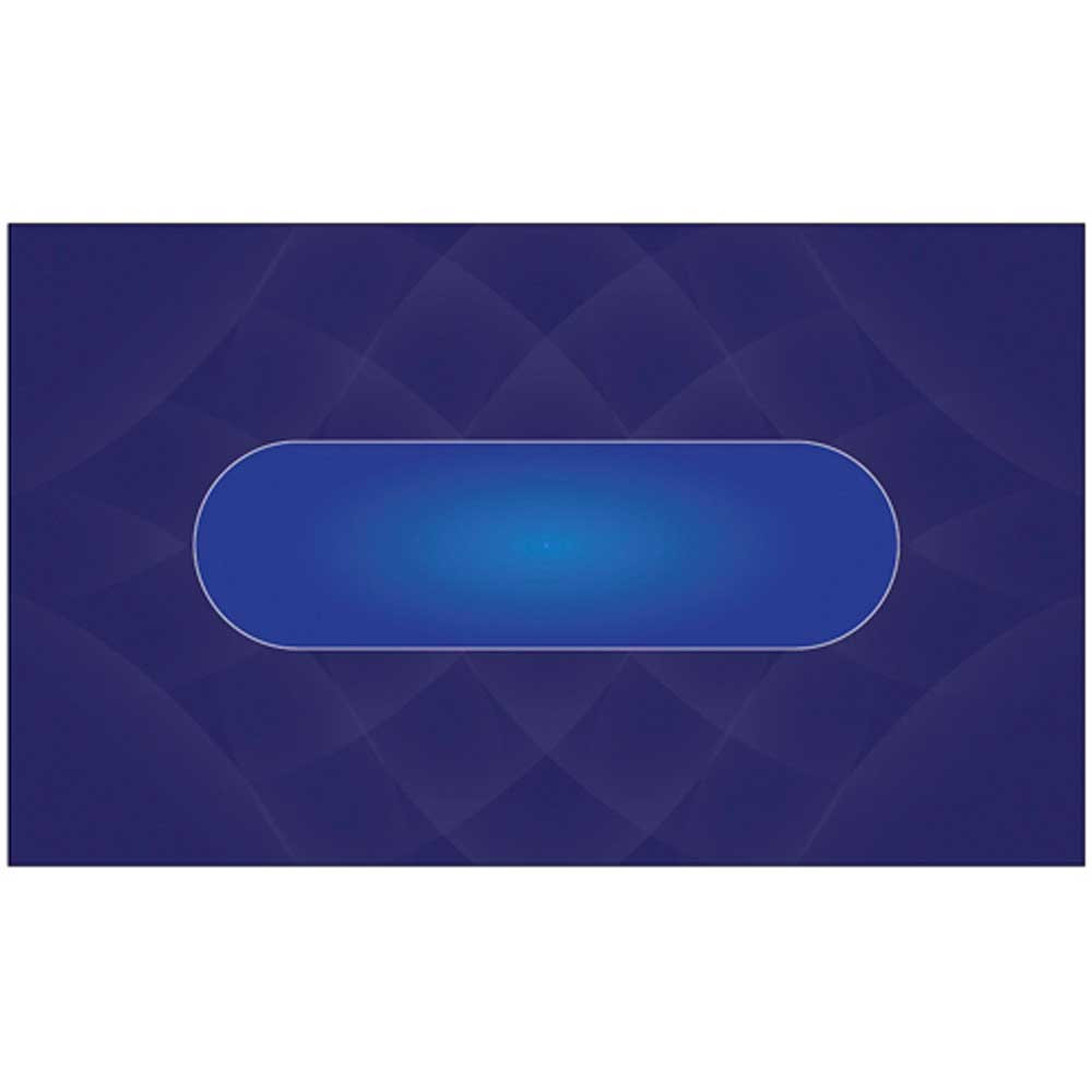 Casino Quality Sublimation Blue Poker Table Felt
