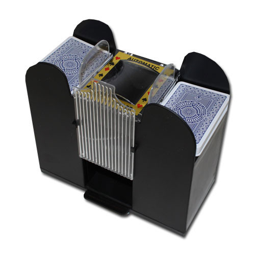 6 Deck Automatic Playing Card Shuffler