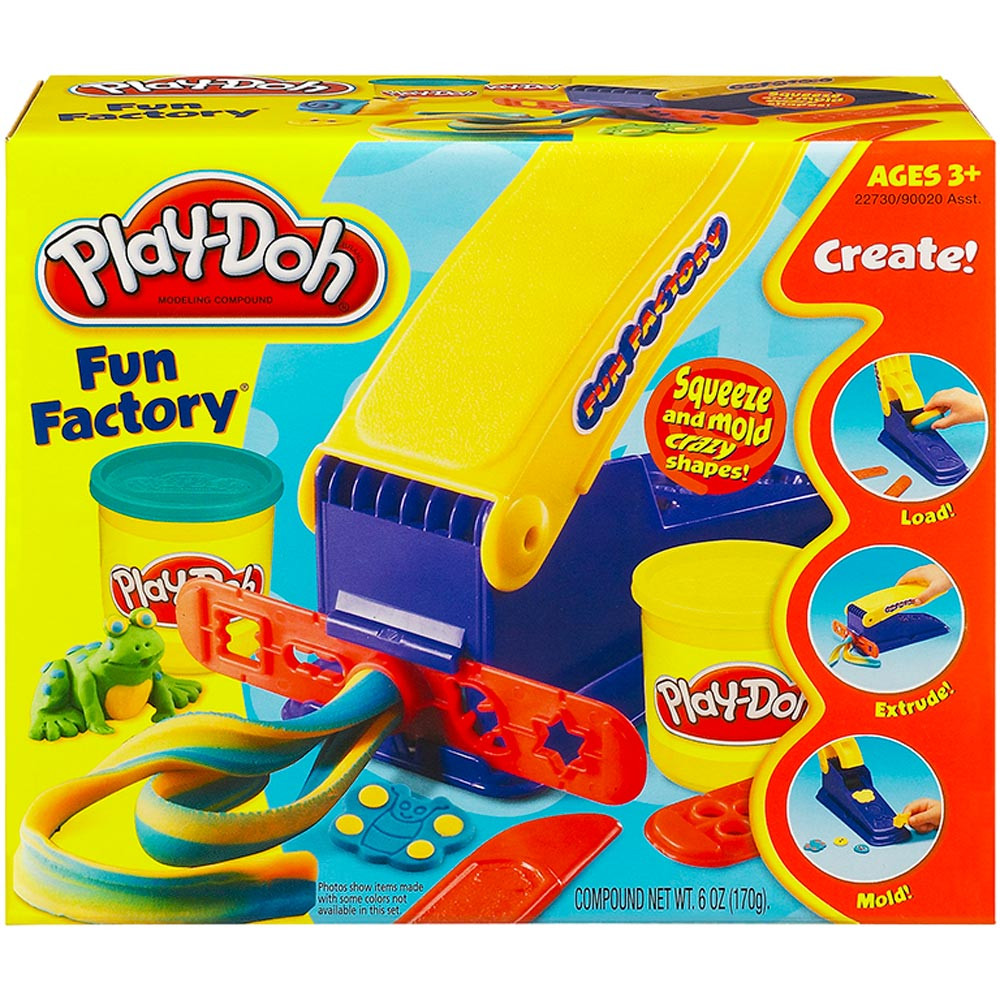 HG-90020 - Play Doh Fun Factory in Dough & Dough Tools