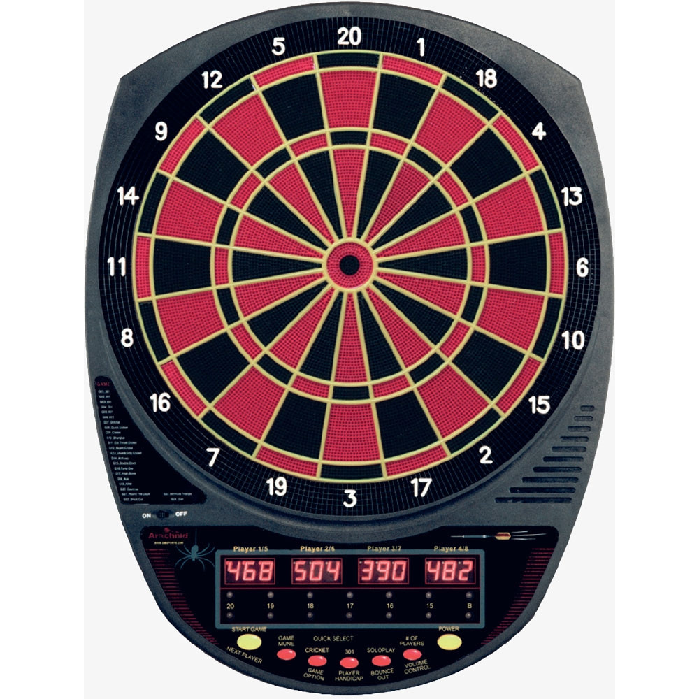 Arachnid Cricket Master 110 Electronic Dart Board Soft