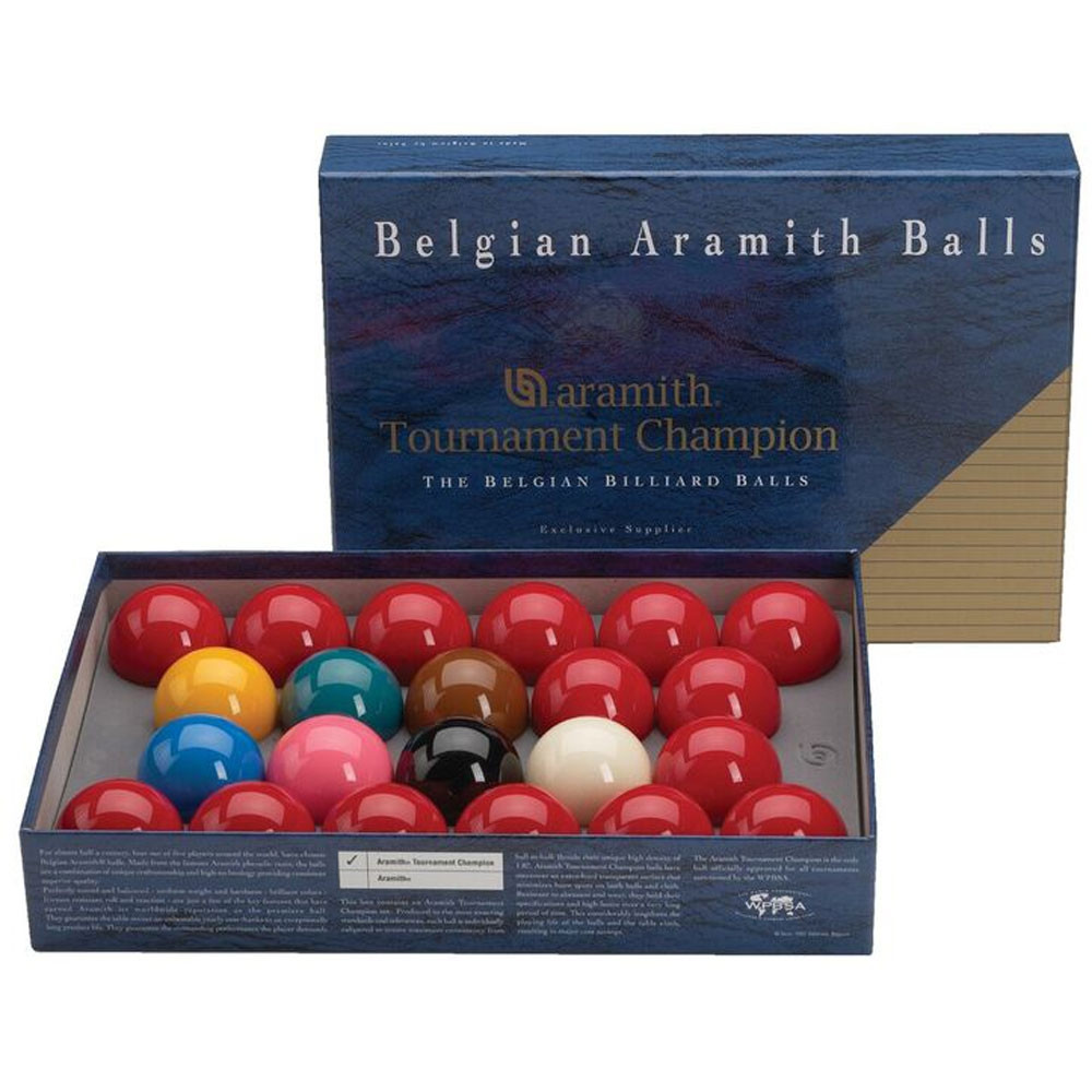 Aramith Tournament Champion Snooker Ball Set
