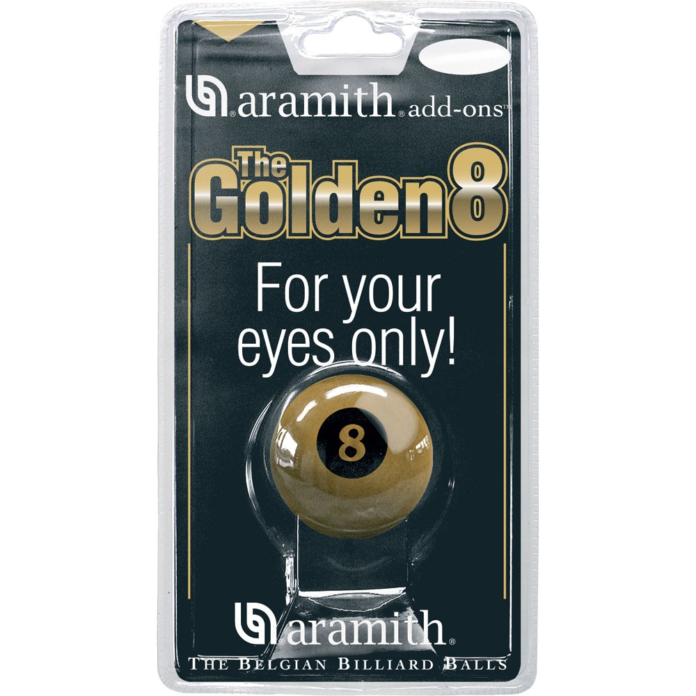 Aramith Golden 8-Ball