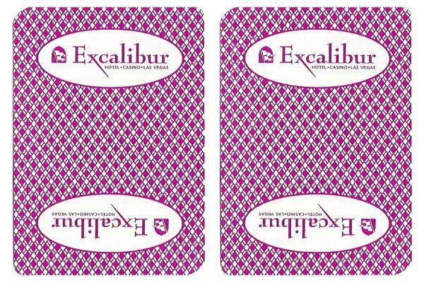Excalibur Casino Used Playing Cards