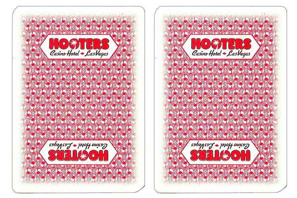 Hooters Casino Used Playing Cards
