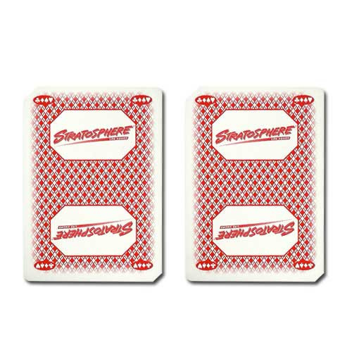 Stratosphere Casino Used Playing Cards