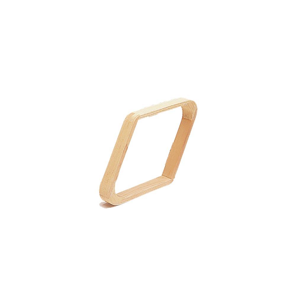 Hardwood Diamond 9-Ball Rack