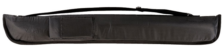 Padded 1b1s Soft Pool Cue Case, Black