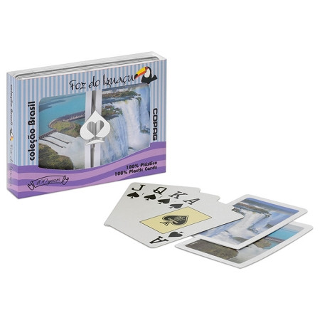 COPAG Foz da Iguaza Plastic Bridge Playing Card Set