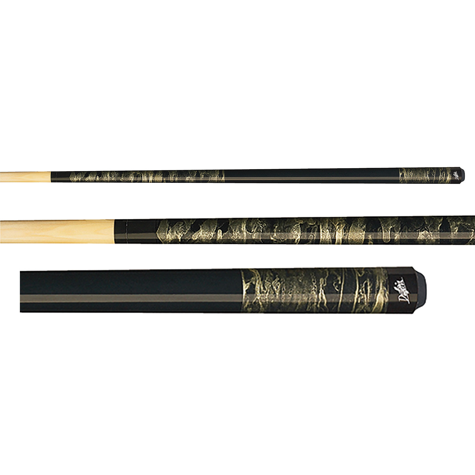 Dufferin D-201 Marbled Silver Dream Pool Cue Stick
