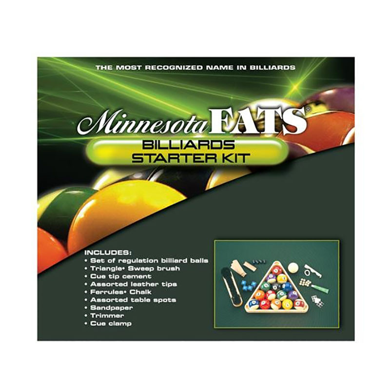 Minnesota Fats Billiards Starter Kit