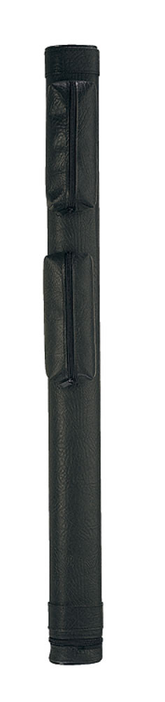 Lucasi LC11A 1B1S Hard Black Leather Pool Cue Case