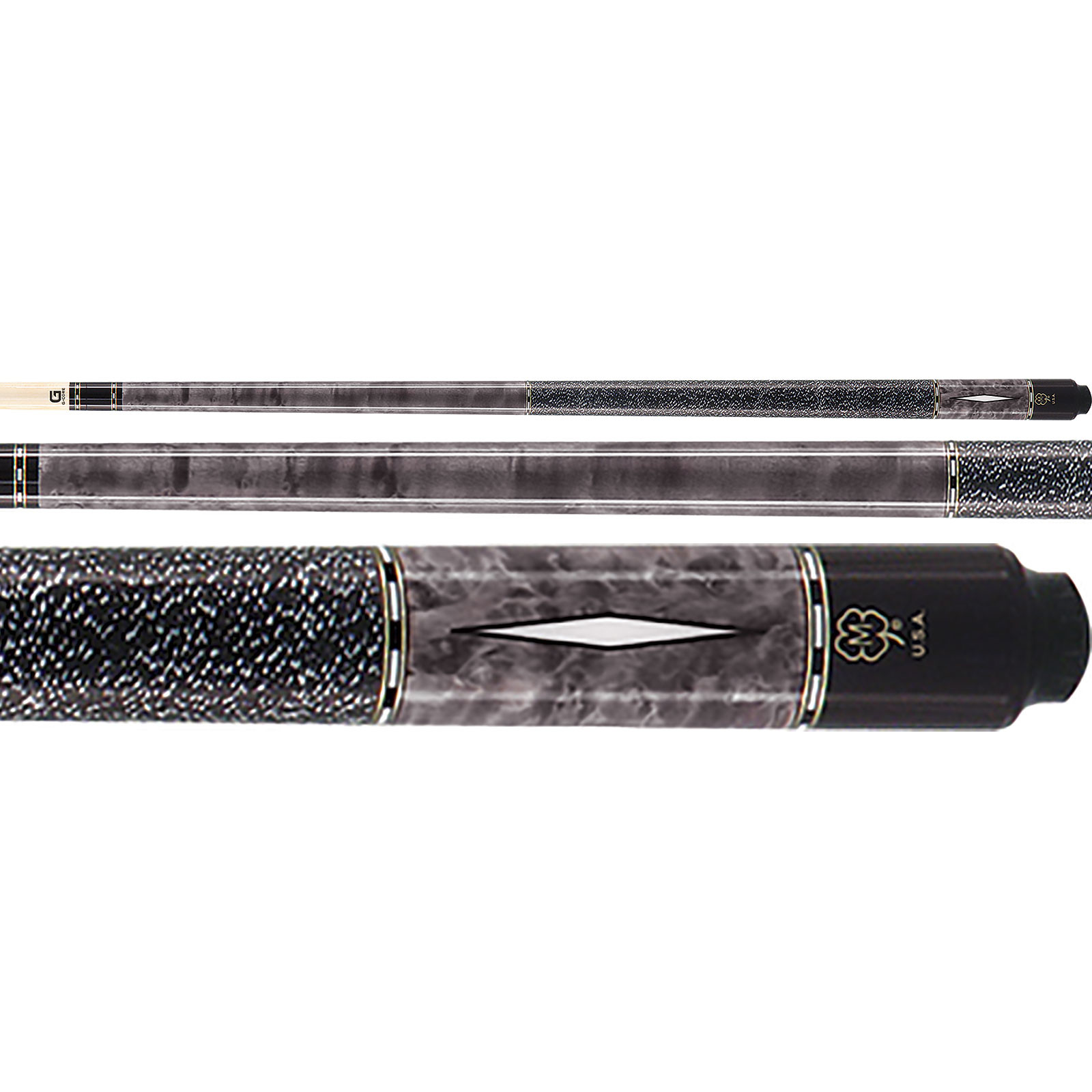 McDermott G302 G-Series Grey Pool Cue