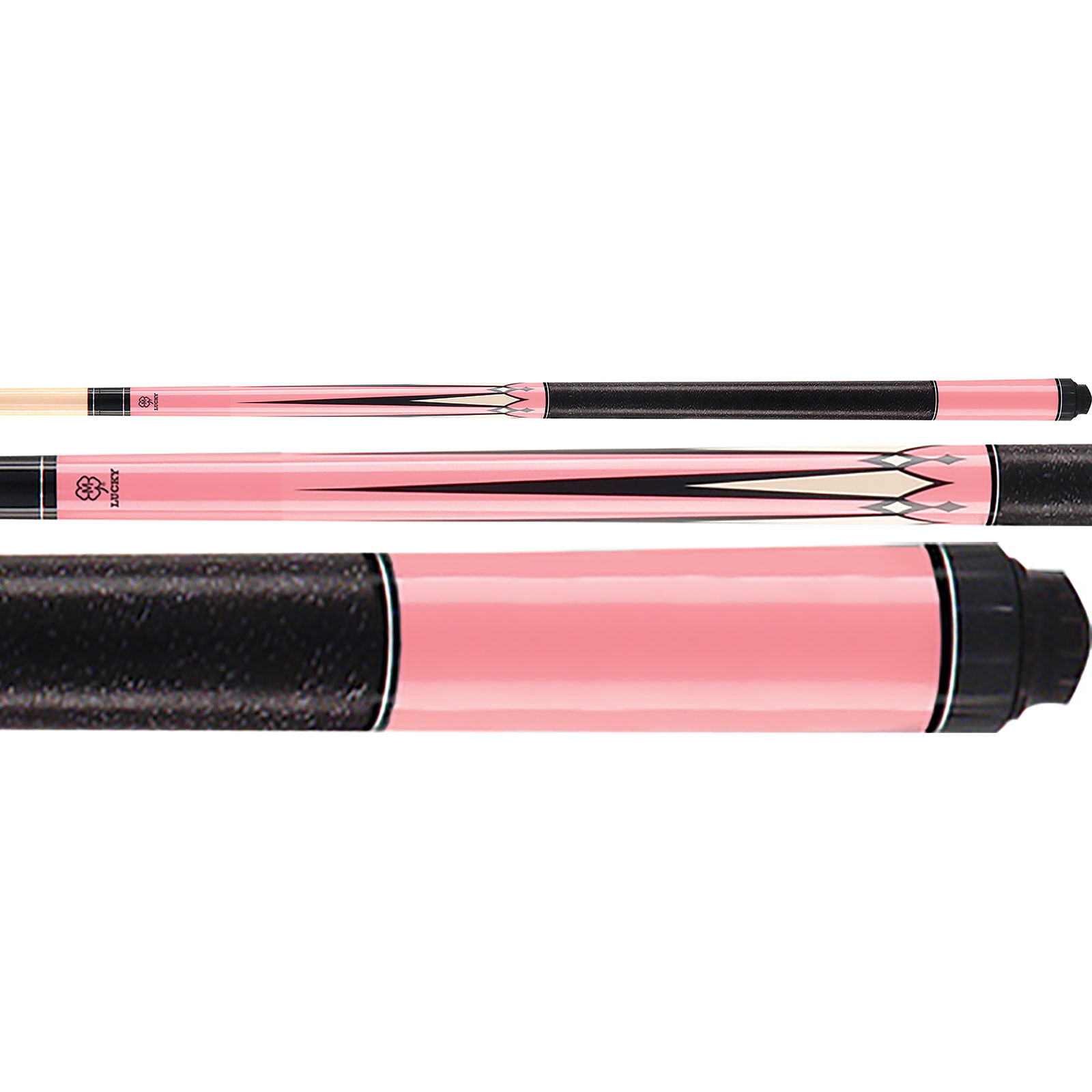 McDermott Lucky Pool Cue, L17, Pink