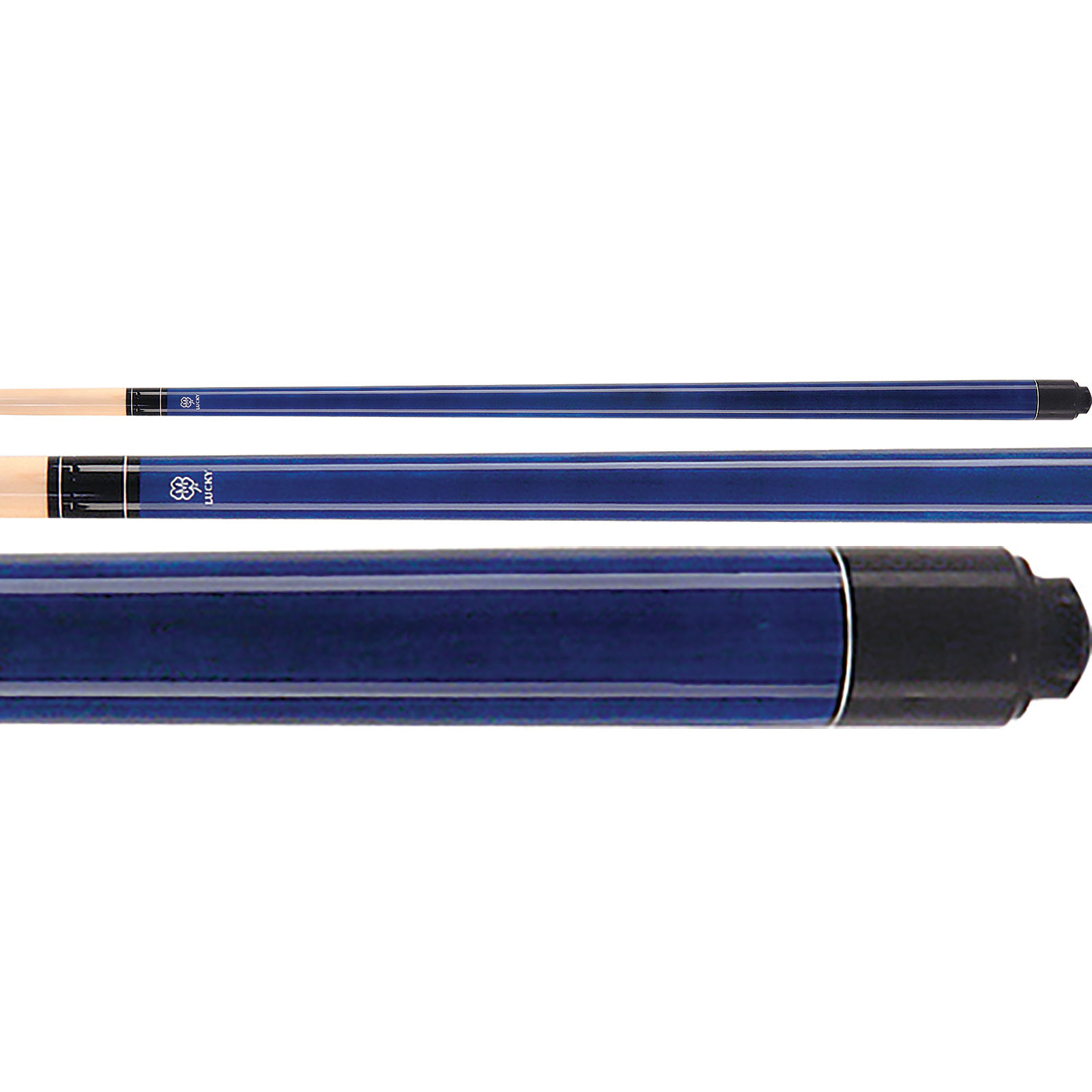 McDermott Lucky Pool Cue, L2, Blue