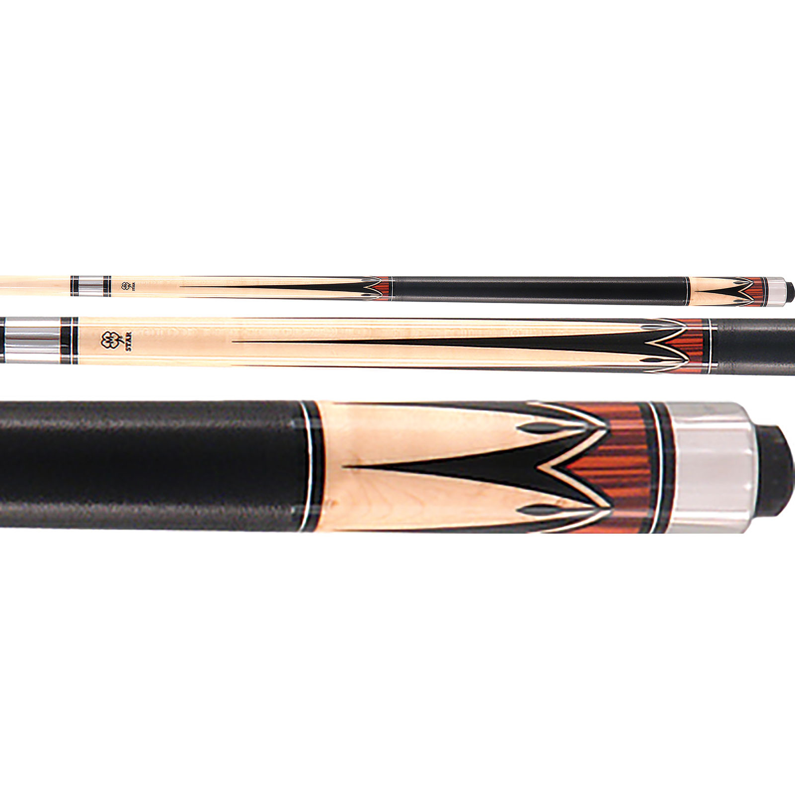 McDermott Star S9 Pool Cue - Brown/Tan