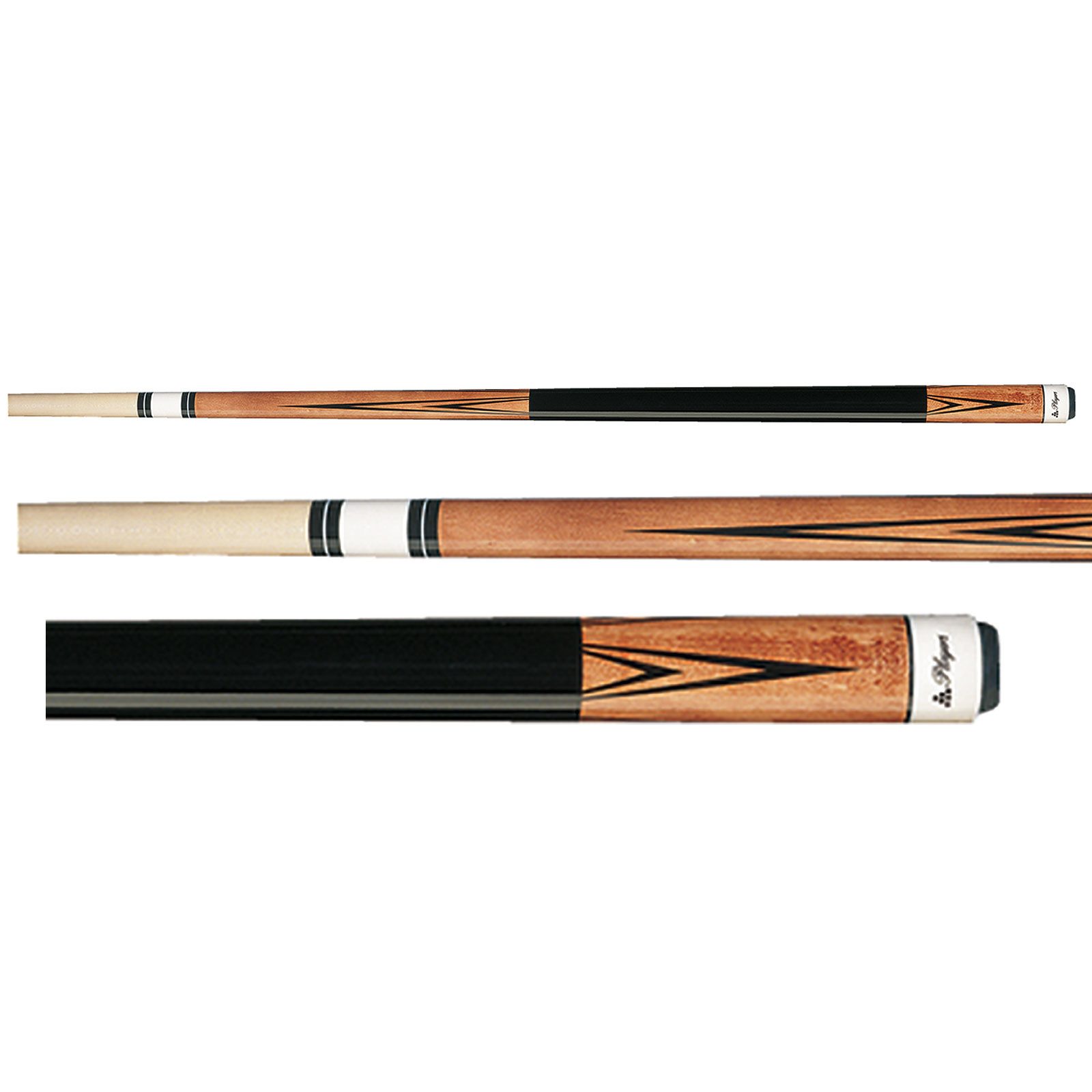 Players C-802 Natural Brown Pool Cue