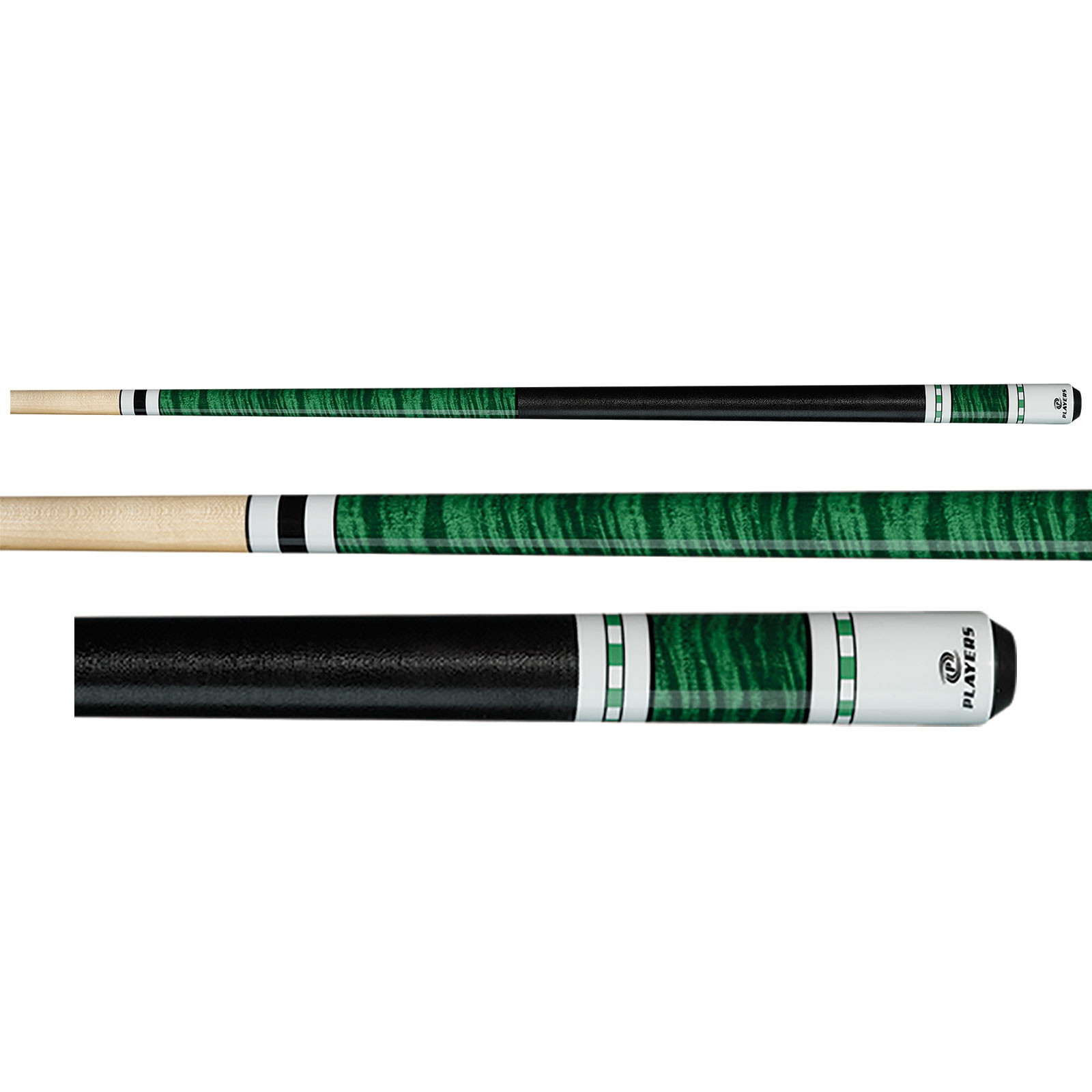 Players C-943 Green Pool Cue
