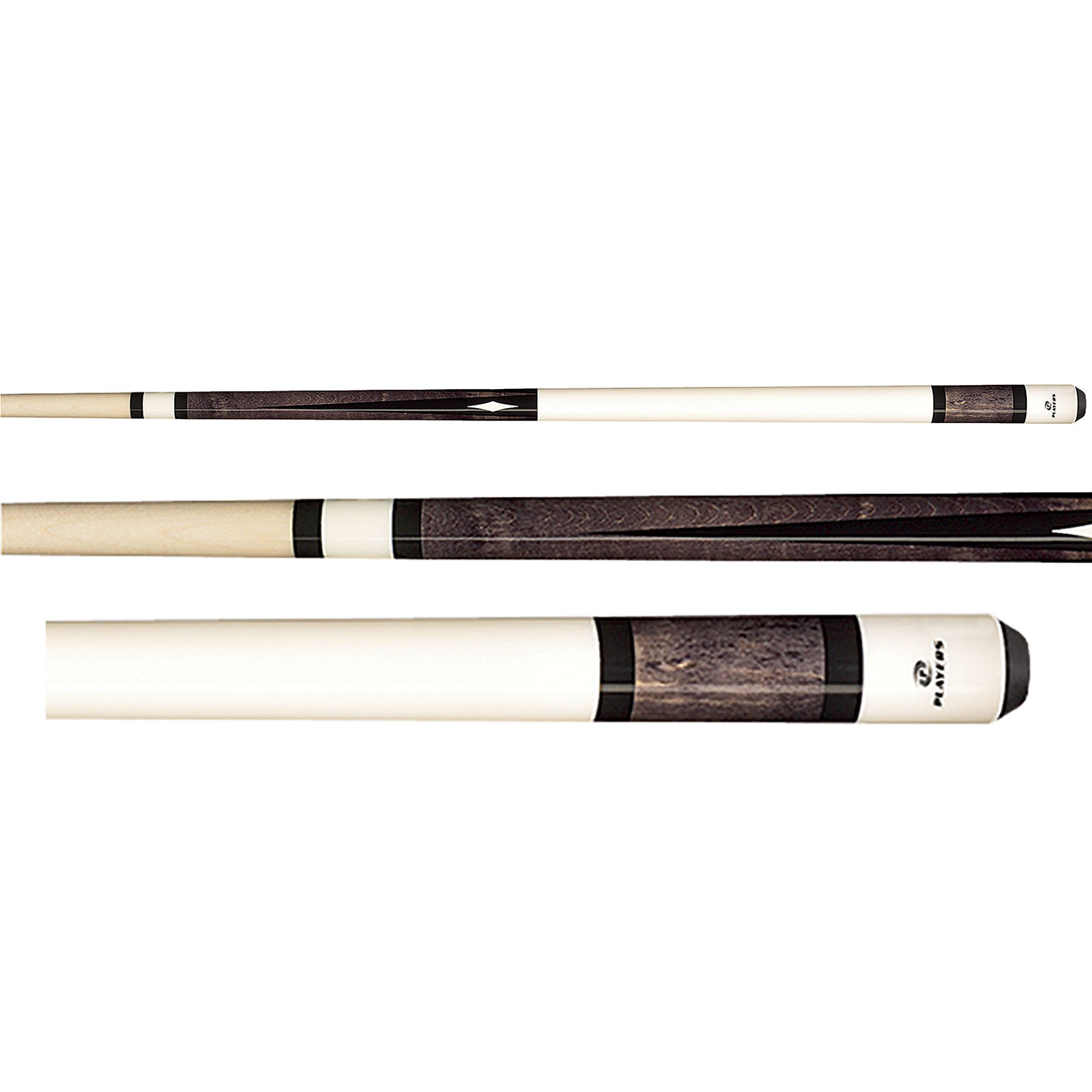 Players C-945 White Grey Pool Cue