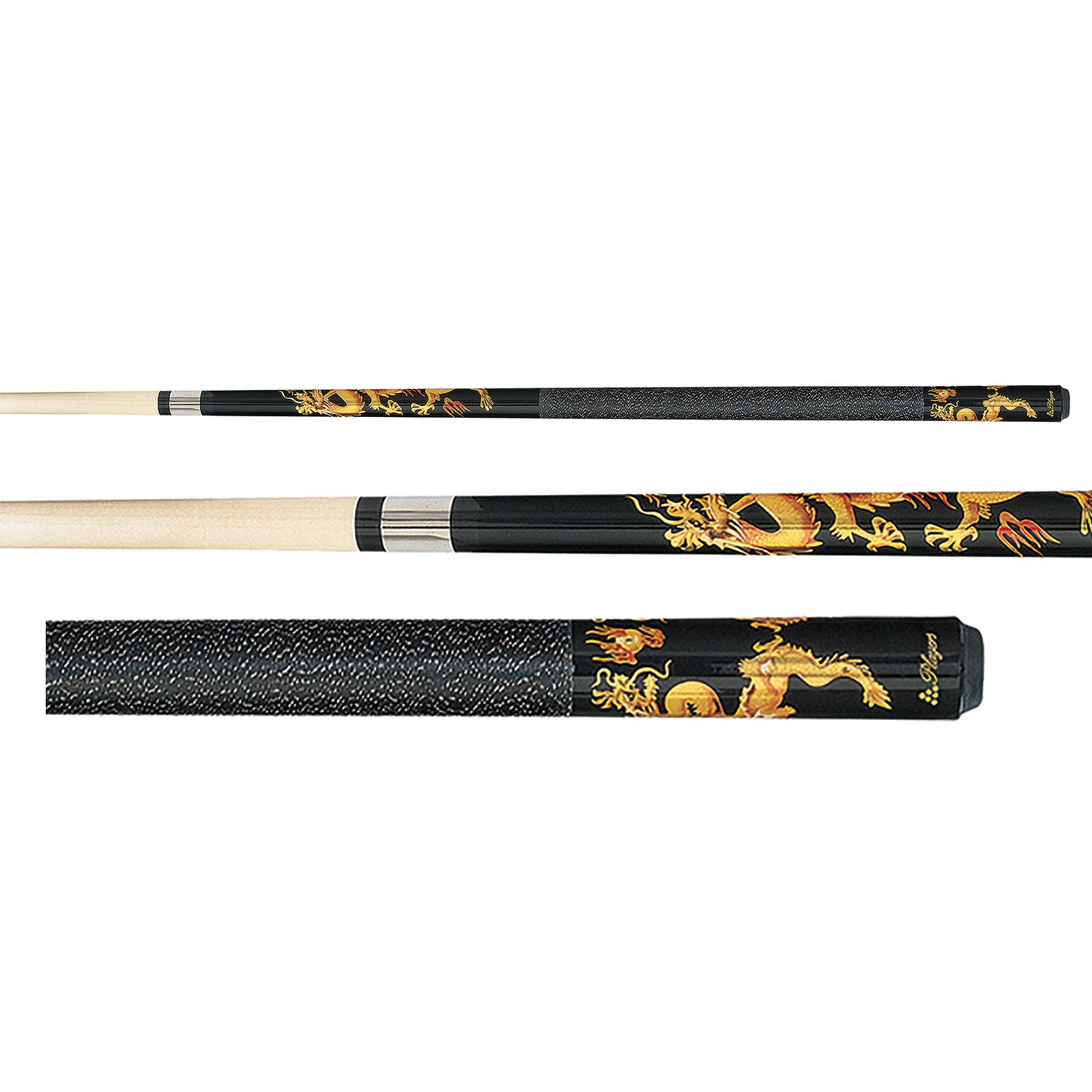Players D Drg Dragon Graphic Pool Cue Stick