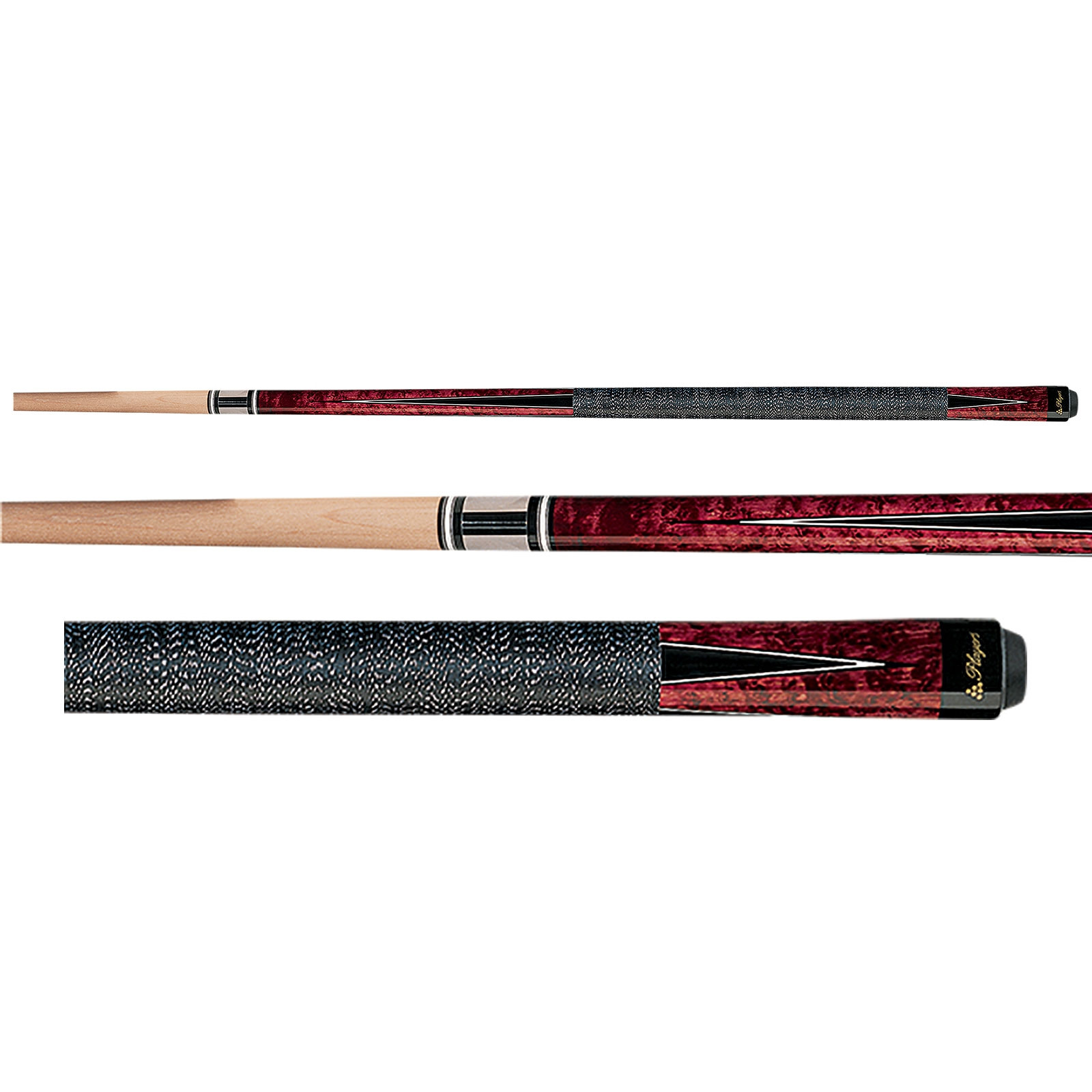 Players G-1001 Crimson Red Pool Cue Stick