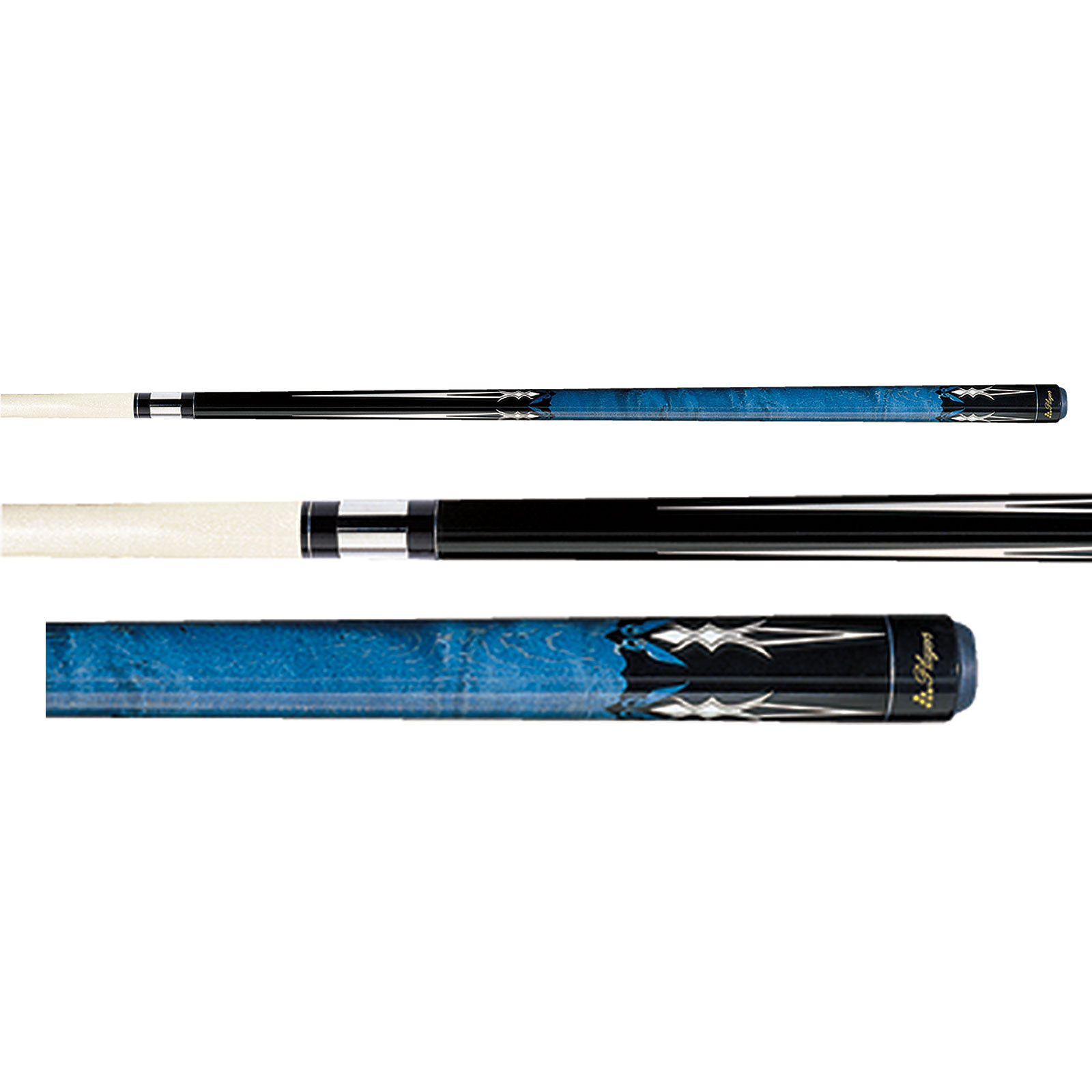 Players G-2218 Cobalt Blue Pool Cue Stick