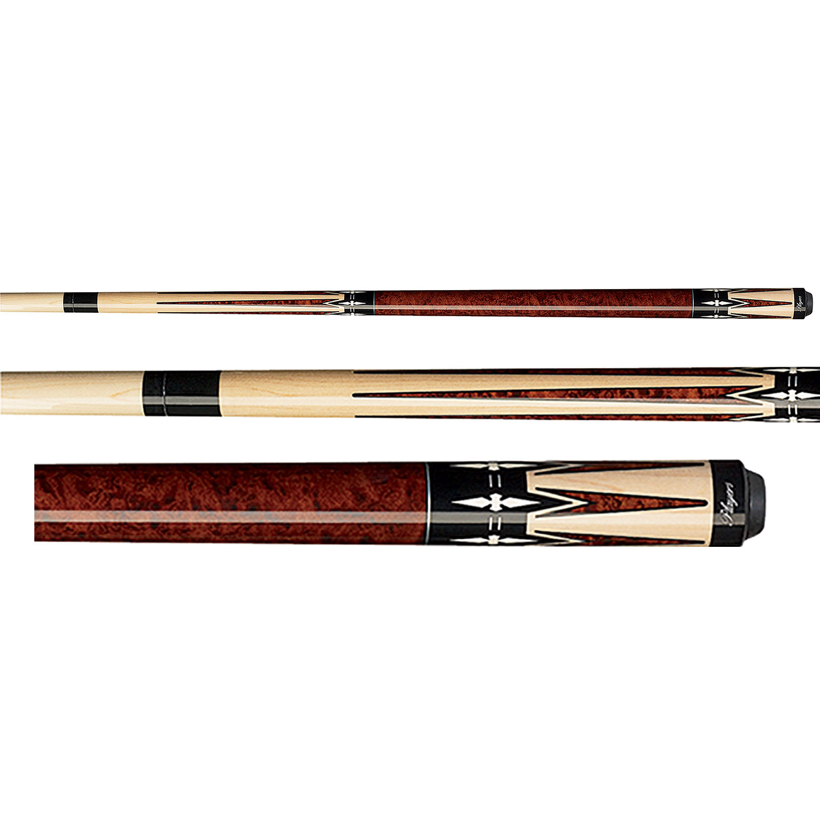 Players G-2290 Walnut Brown Pool Cue Stick