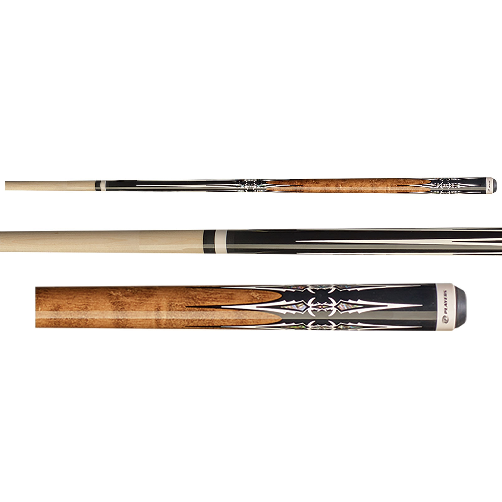 Players G-4114 Antique Brown Pool Cue Stick